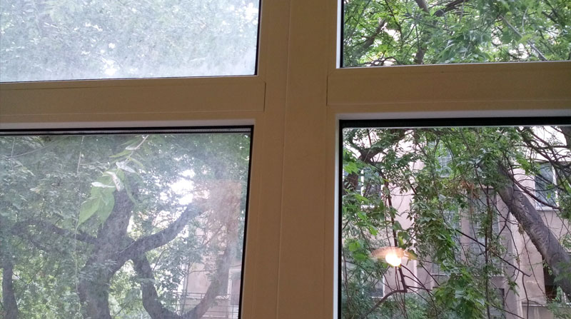 Čistenie okná